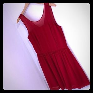 Kenzie red holiday dress, size small